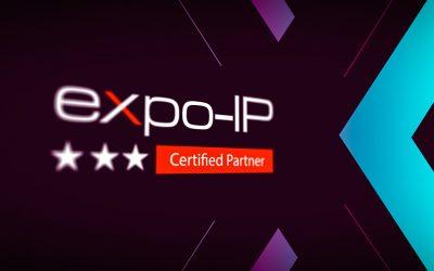 PLANWORX ist zertifizierter Premium Partner von expo IP